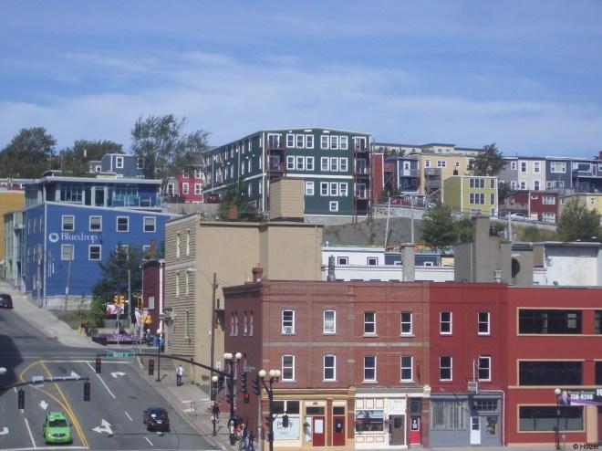 St. John's ist eine Großstadt und doch nicht so grau.